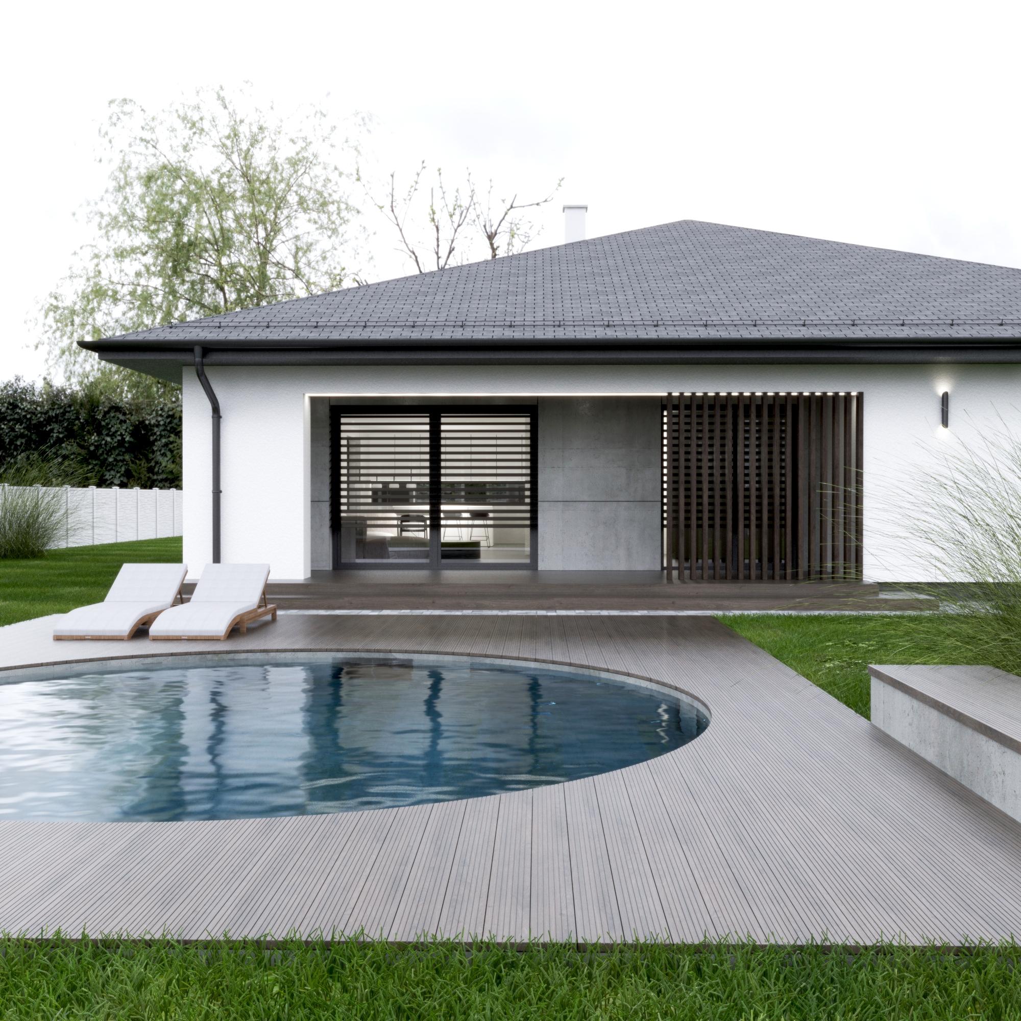 návrh domu kotešová