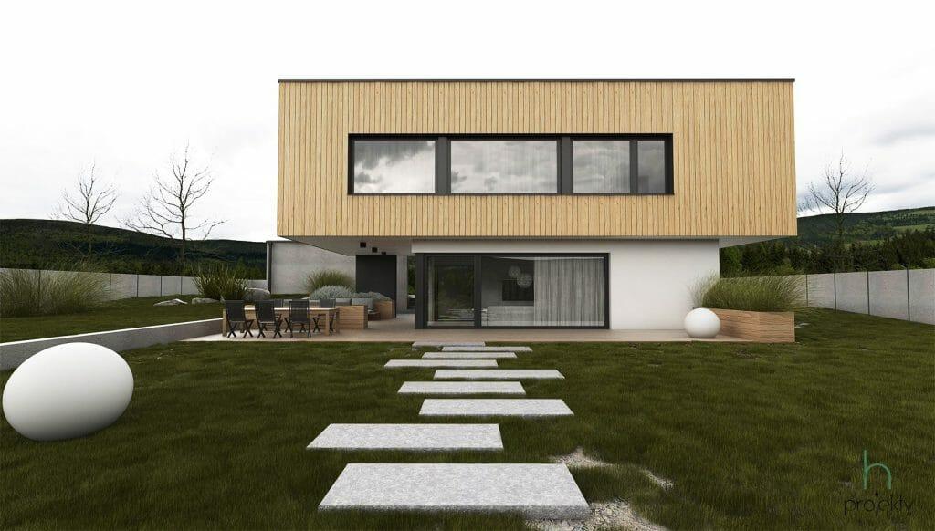projekty rodinnych domov