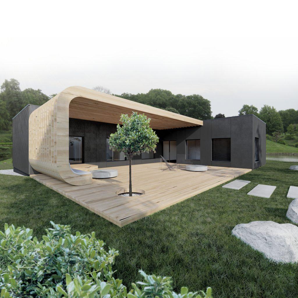 dom tvaru L